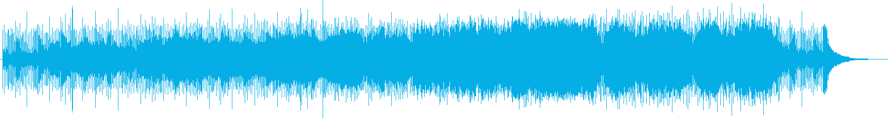 Orchestra with a characteristic feeling of running guitar's reproduced waveform