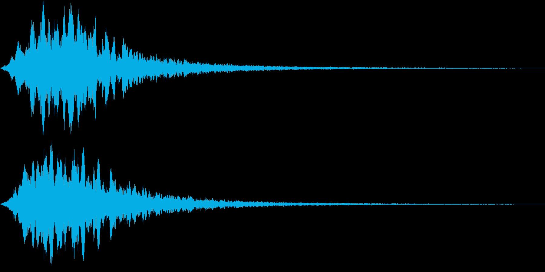 KAIDAN 怪談噺SE 踏切の音Mixの再生済みの波形