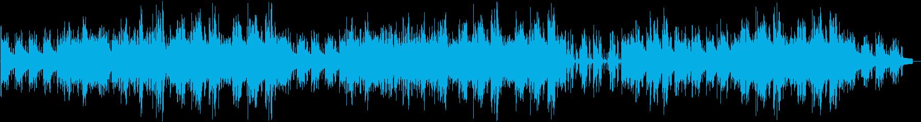 しっとりとおしゃれなジャズピアノ   の再生済みの波形