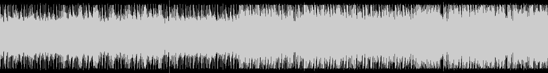 静かで美しい森のBGM ループ版の未再生の波形