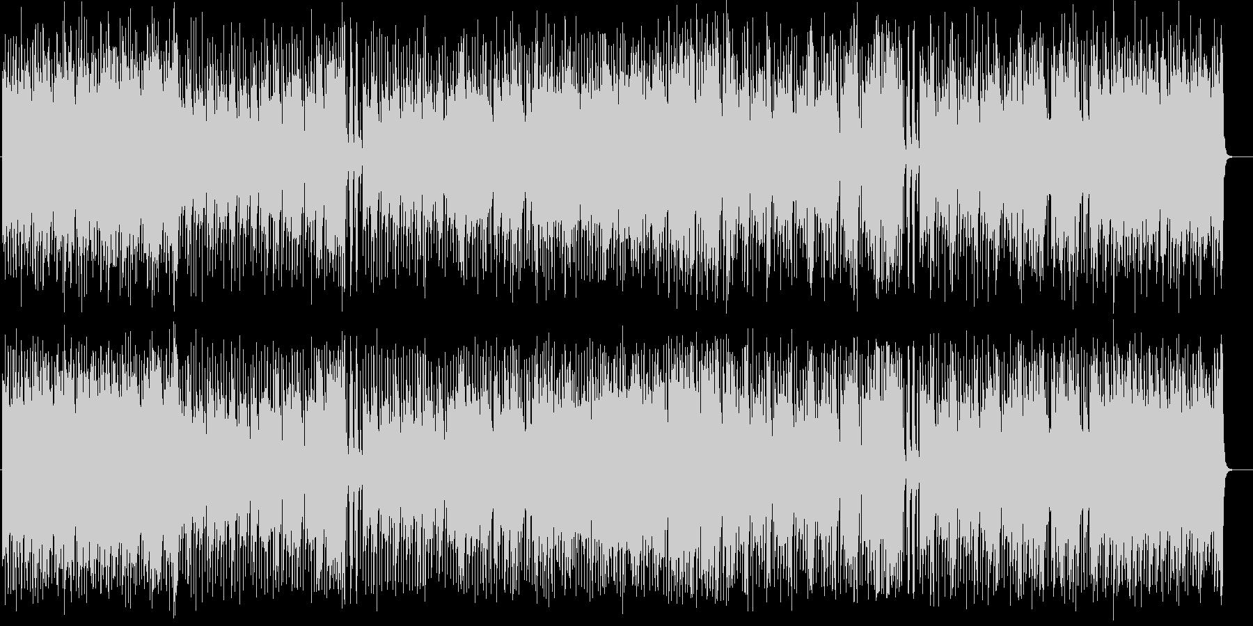 流麗なアコースティック・ギター・サウンドの未再生の波形