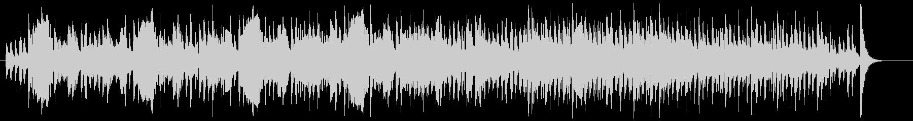 クラシック調金管楽器シンセなどの曲の未再生の波形