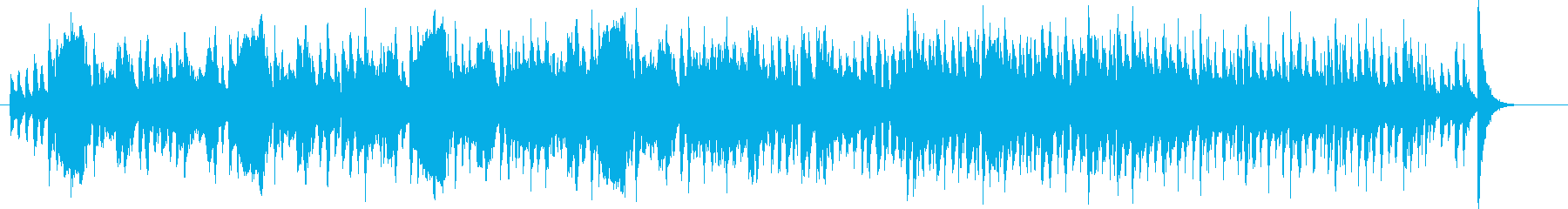 クラシック調金管楽器シンセなどの曲の再生済みの波形
