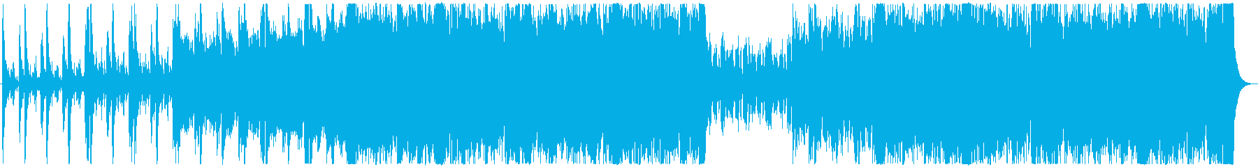「達成」テーマのような上昇するファ...の再生済みの波形