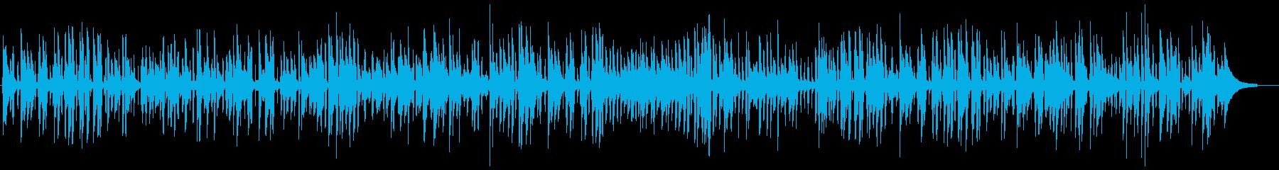 おしゃれなバーの生演奏ライブジャズの再生済みの波形