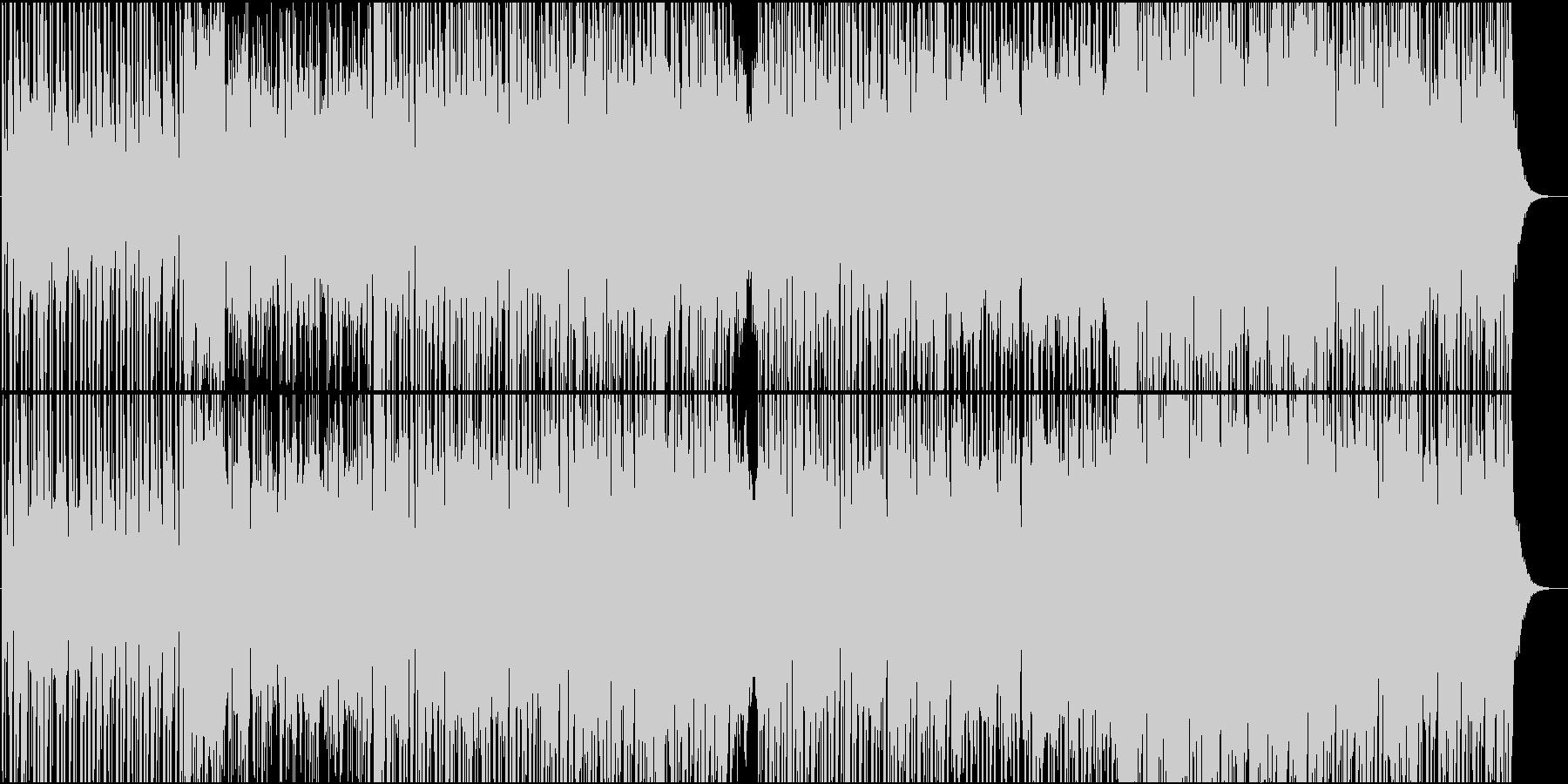 近代的で宇宙のようなシンセサウンドの未再生の波形