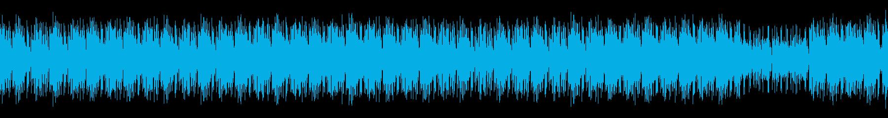 ほんわかリラックスしたヒップホップの再生済みの波形