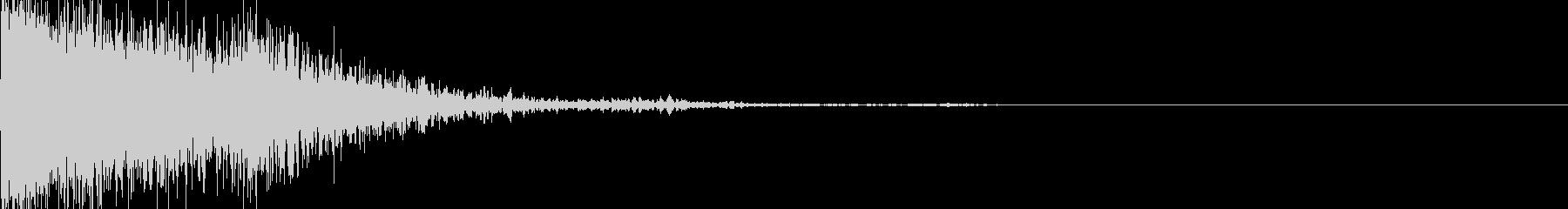 加速音01の未再生の波形