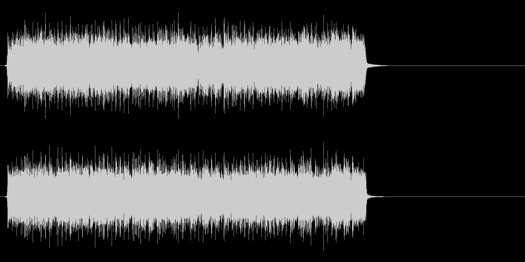情熱的で爽やかなポップ(Bメロ)の未再生の波形