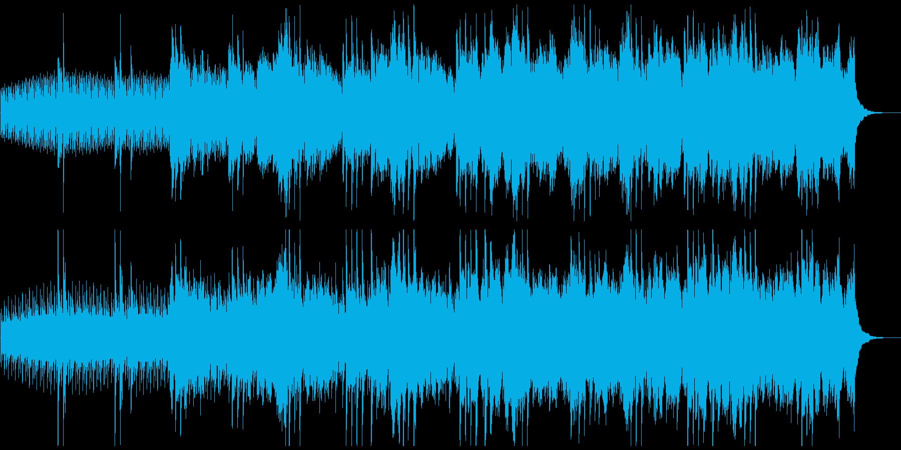 ピアノ主体のアンビエントな曲/宇宙/解説の再生済みの波形