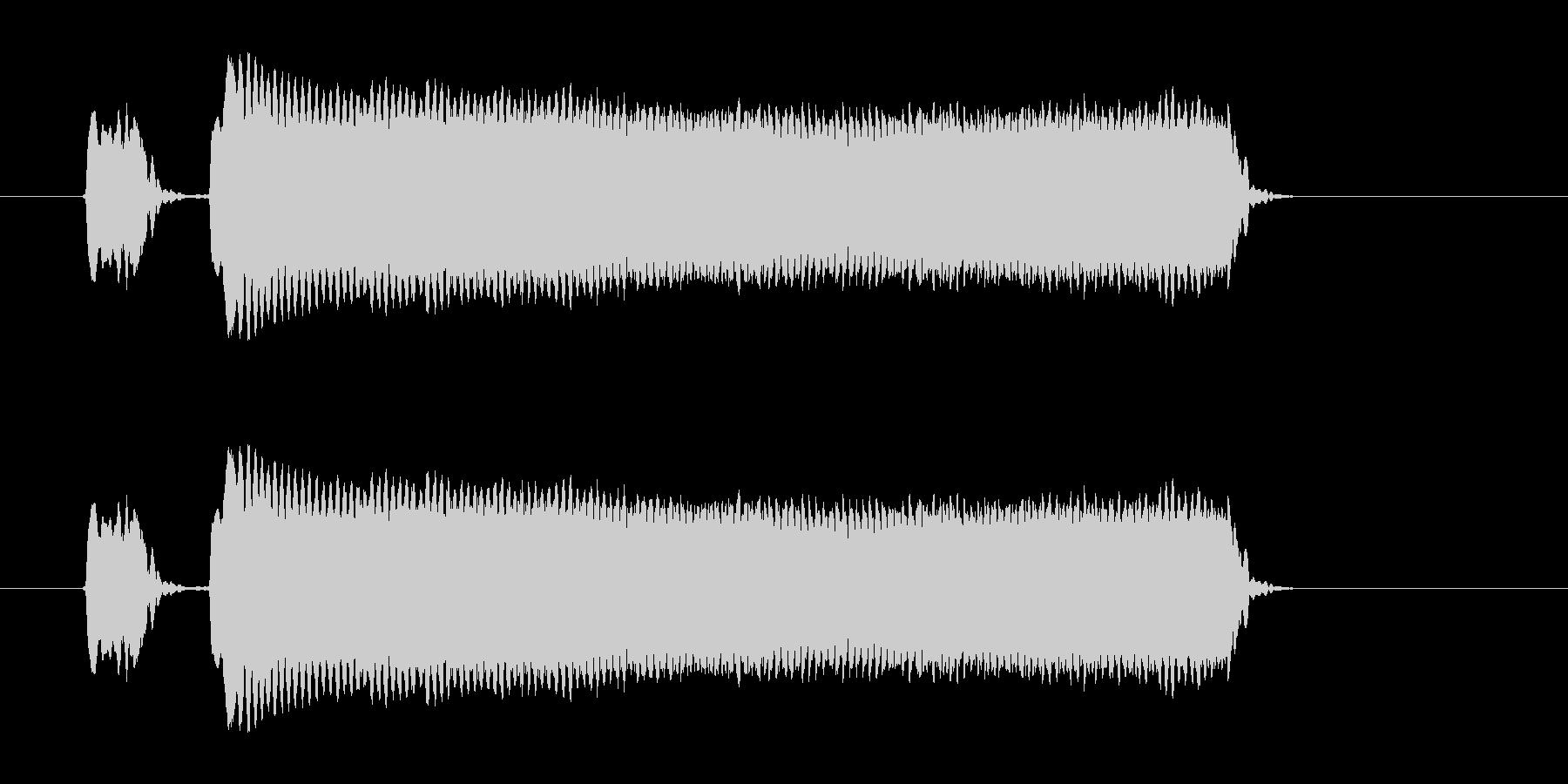 ピピー!◆ホイッスル/競技、交通整理の笛の未再生の波形
