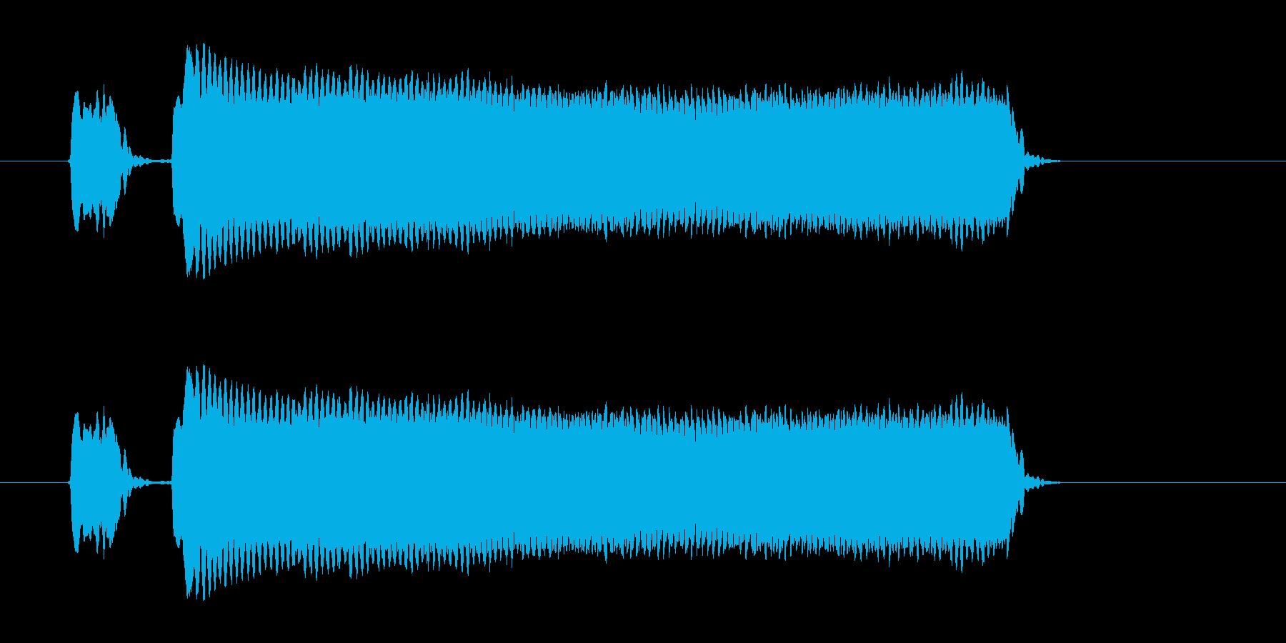ピピー!◆ホイッスル/競技、交通整理の笛の再生済みの波形