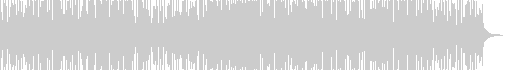 ポップでカラフルなエレクトロハウスの未再生の波形