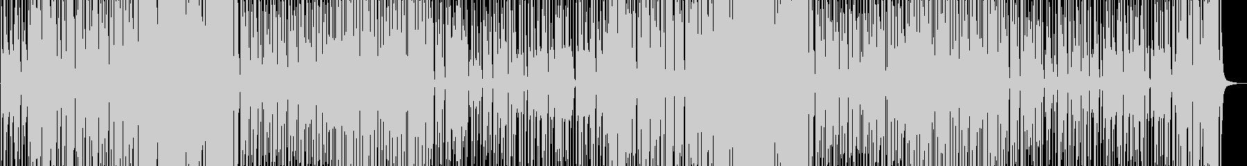 子供っぽくてかわいいリコーダー曲の未再生の波形