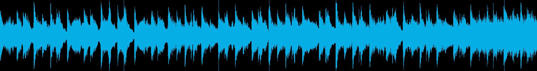 ストリング+和楽器のループ音楽ですの再生済みの波形