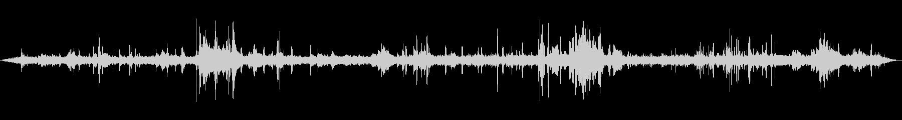 地下鉄のプラットフォーム-Hum ...の未再生の波形