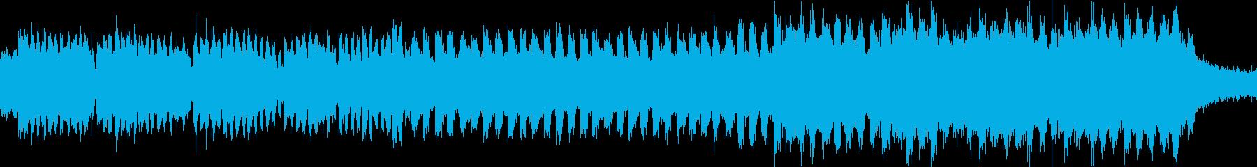 ピアノがキラキラしたJPOP風曲ループbの再生済みの波形