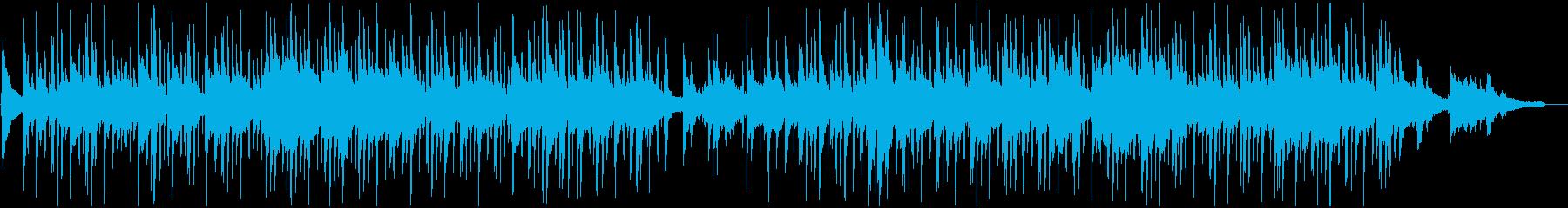 気だるいヒップホップジャズの再生済みの波形