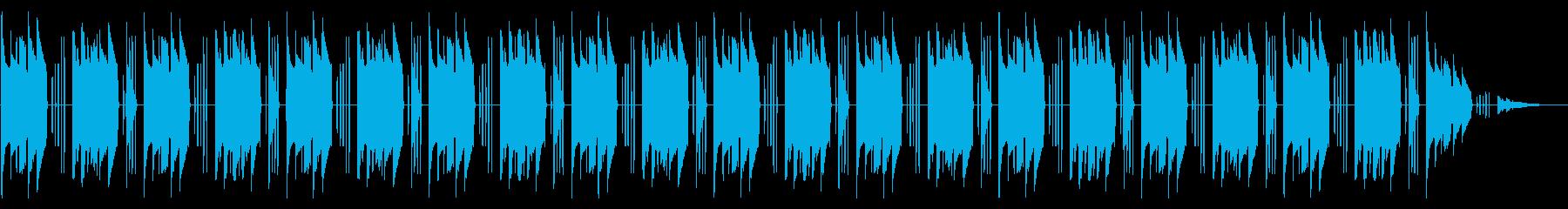 NES アクションB02-1(ステージ2の再生済みの波形
