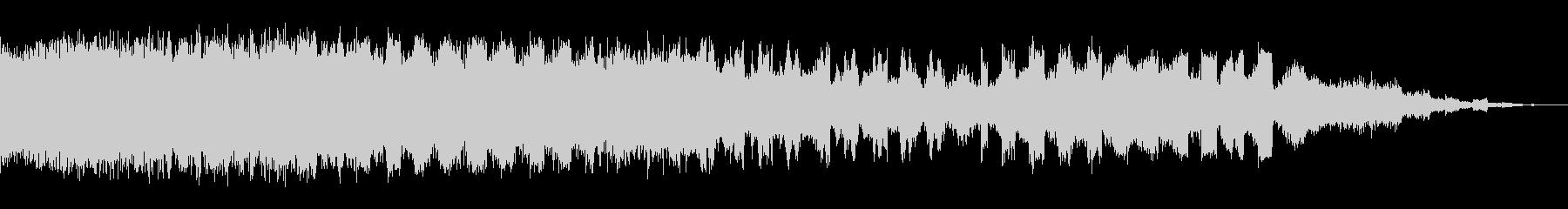 ロング変調パルススイープの未再生の波形