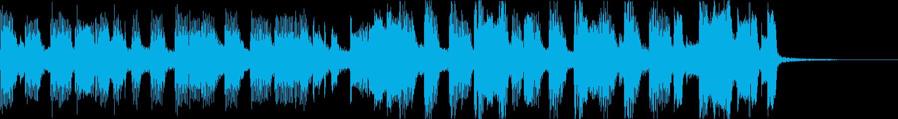 おしゃれチルヒップホップR&Bハウスeの再生済みの波形