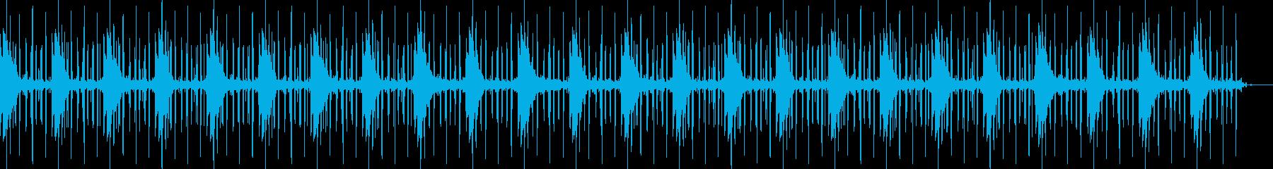 穏やかリラックスくつろぐ神秘的チルアウトの再生済みの波形