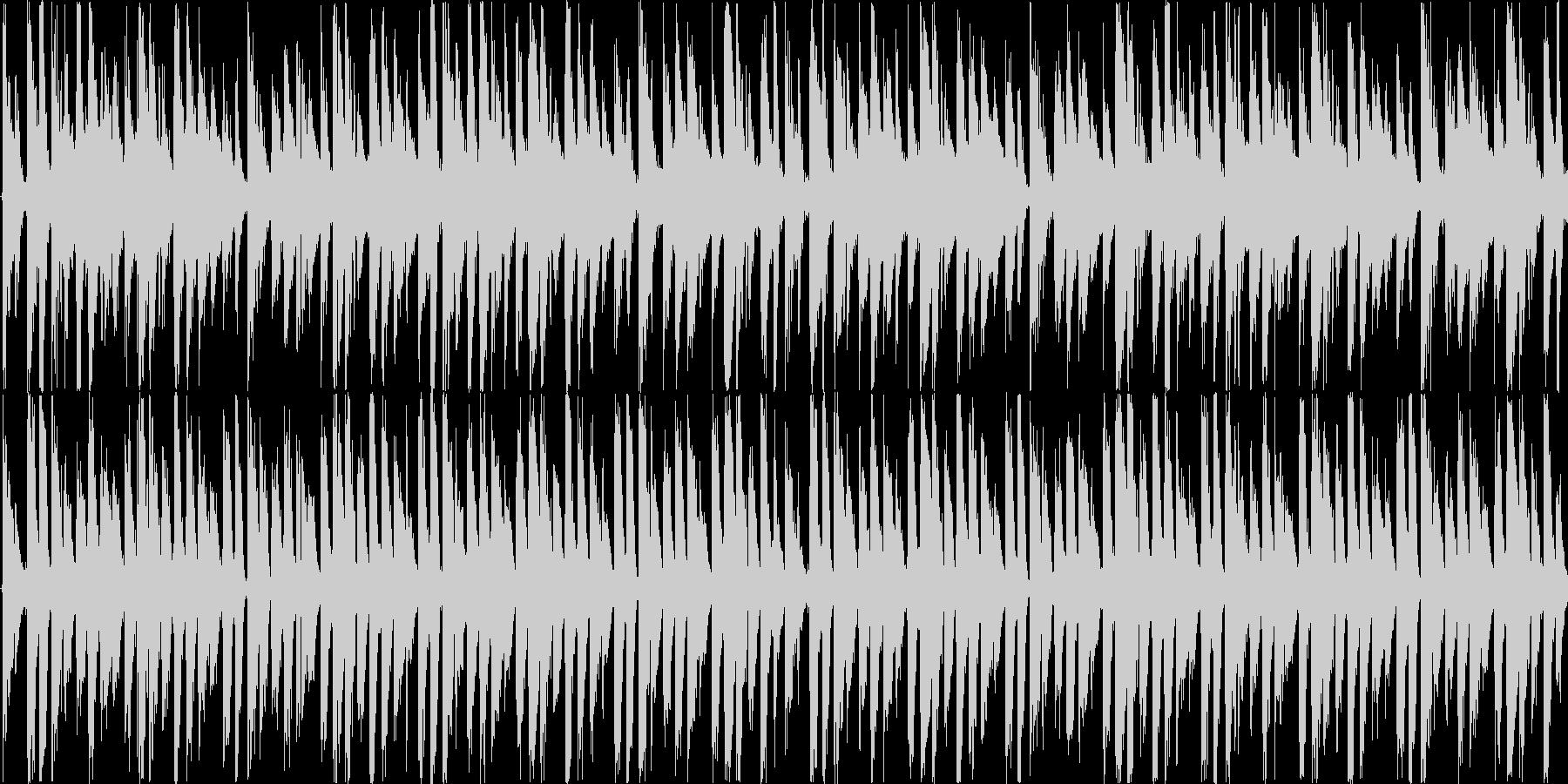 デトロイトを意識した楽曲です。の未再生の波形