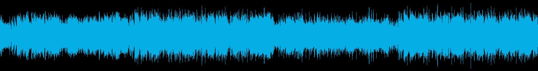 ループ・ゲーム・かっこいいフラメンコの再生済みの波形