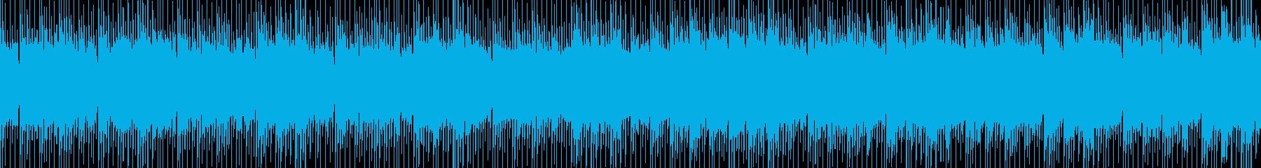 ニュース映像ナレーションバック向け-25の再生済みの波形