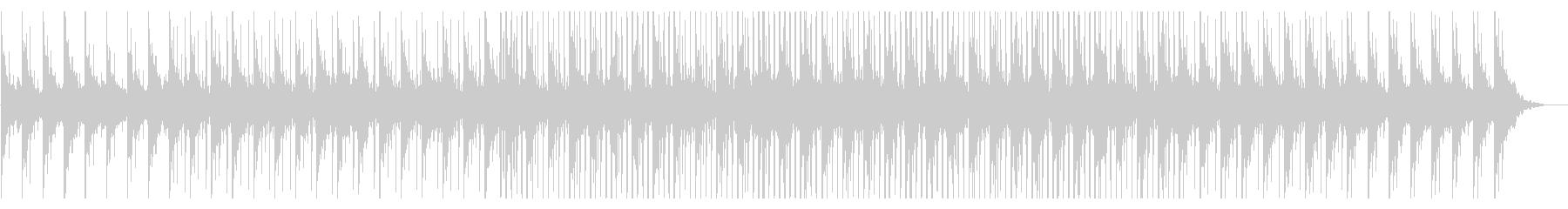 Neutral BGM for news commentary's unreproduced waveform
