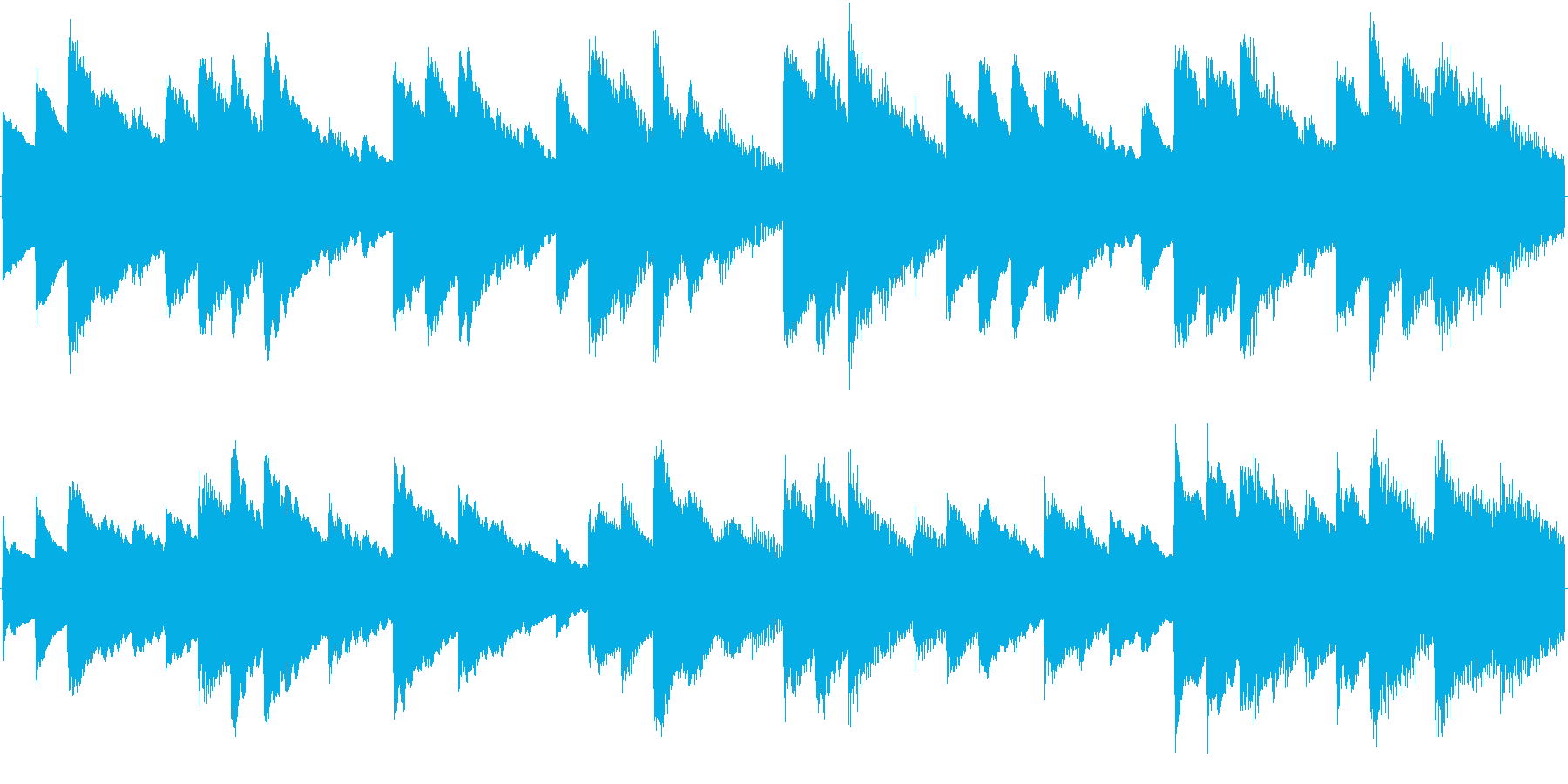 オルゴール曲で、着信音に適していますの再生済みの波形