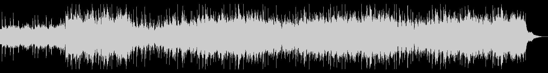 ダークなサウンドスケープの未再生の波形