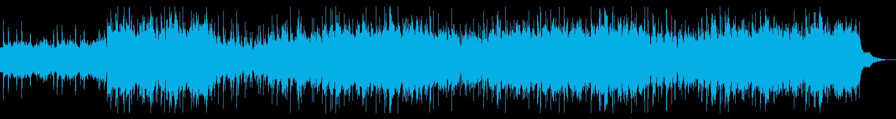 ダークなサウンドスケープの再生済みの波形