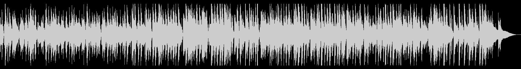 大人の楽しげなjazz風ピアノ2の未再生の波形