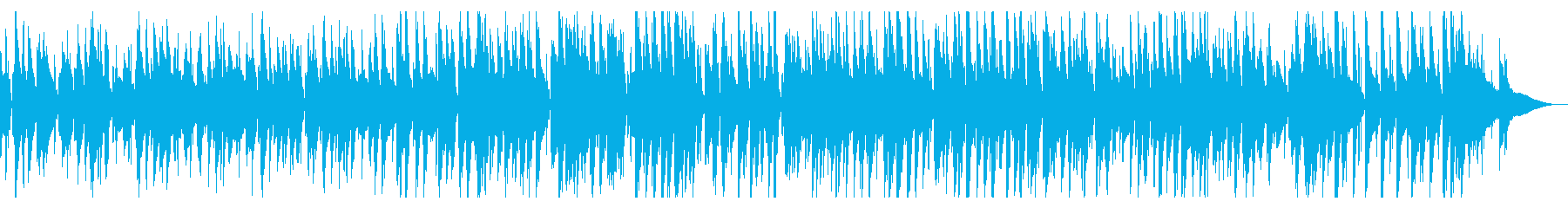 大人の楽しげなjazz風ピアノ2の再生済みの波形