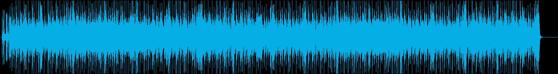 気持ちいい朝をイメージしたピアノポップスの再生済みの波形