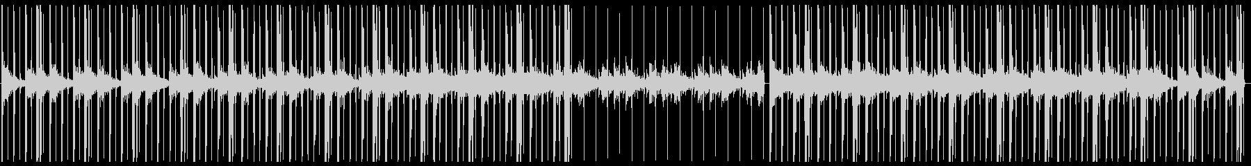 チルアウト・ローファイヒップホップ・Fの未再生の波形