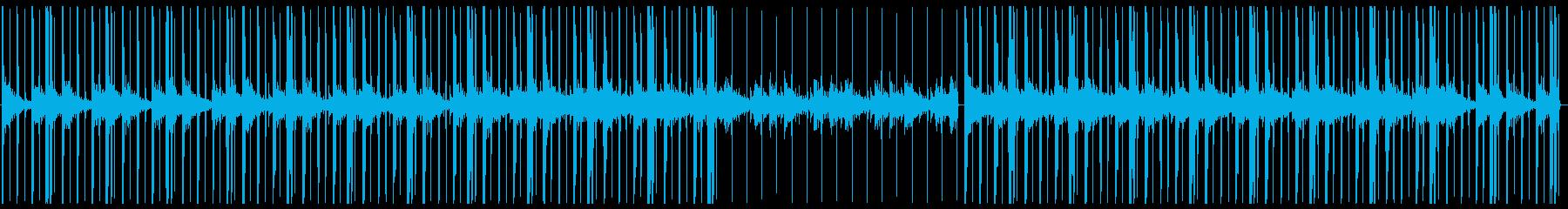 チルアウト・ローファイヒップホップ・Fの再生済みの波形