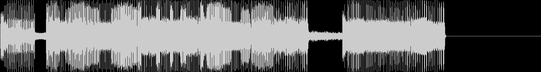 レトロゲームなチップチューンジングル1の未再生の波形