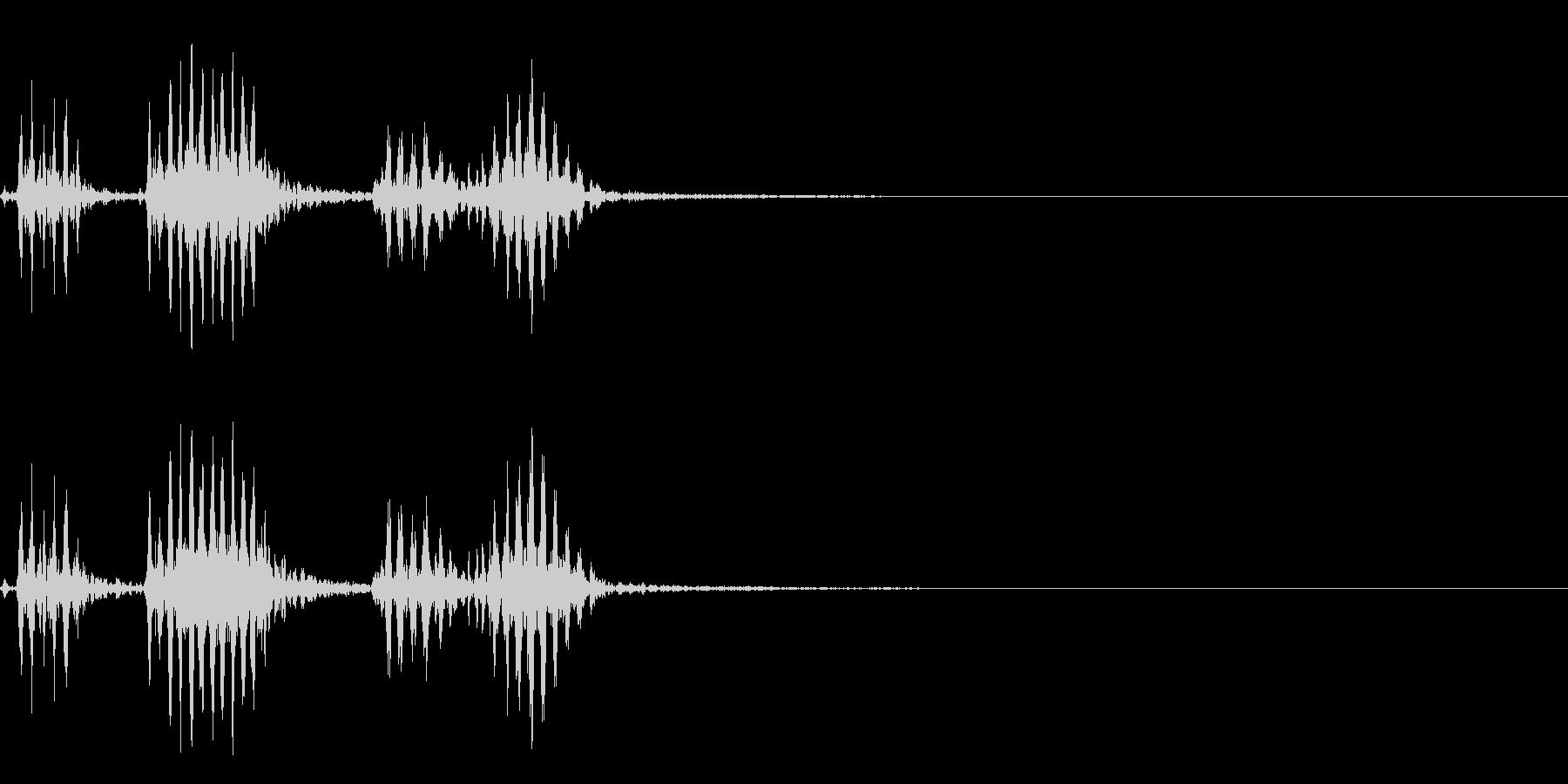 【生録音】フラミンゴの鳴き声 21の未再生の波形