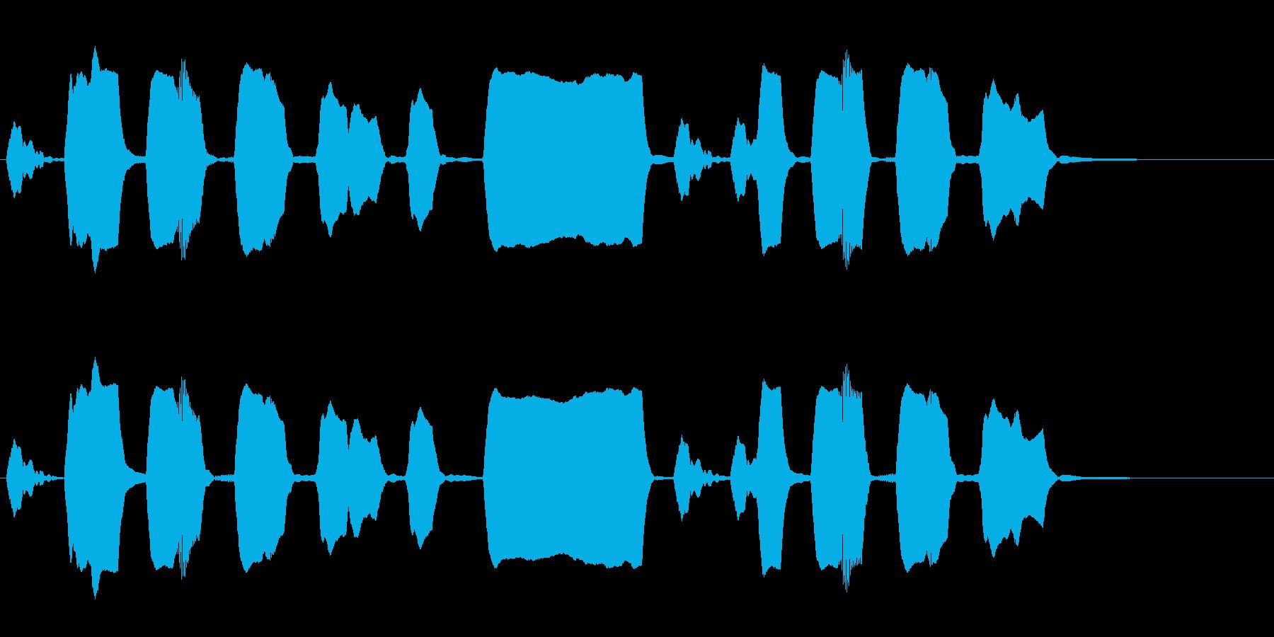 ジングル リコーダー 軽快 元気の再生済みの波形