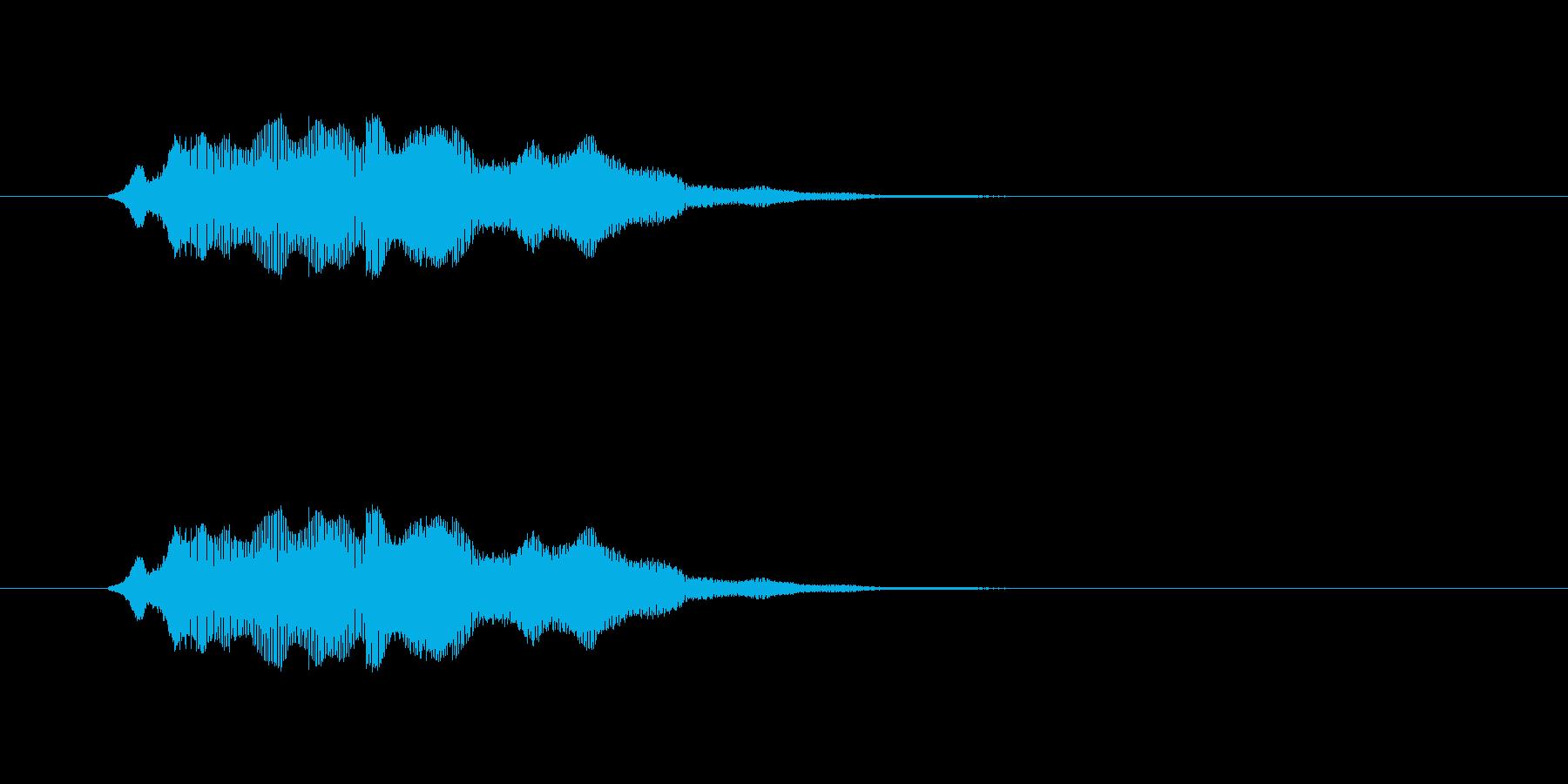 浮遊_ほわんの再生済みの波形