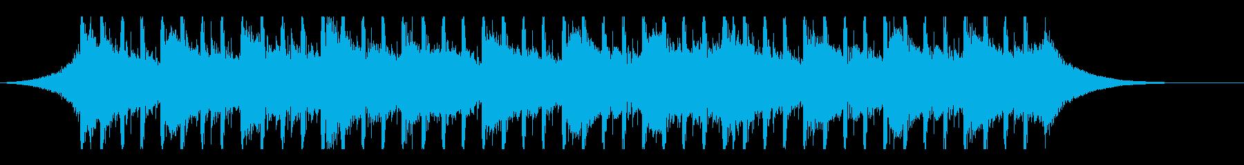 企業業績(30秒)の再生済みの波形