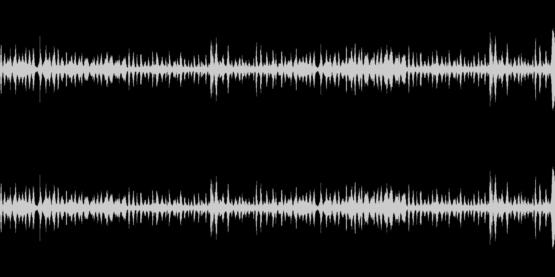 波1の未再生の波形