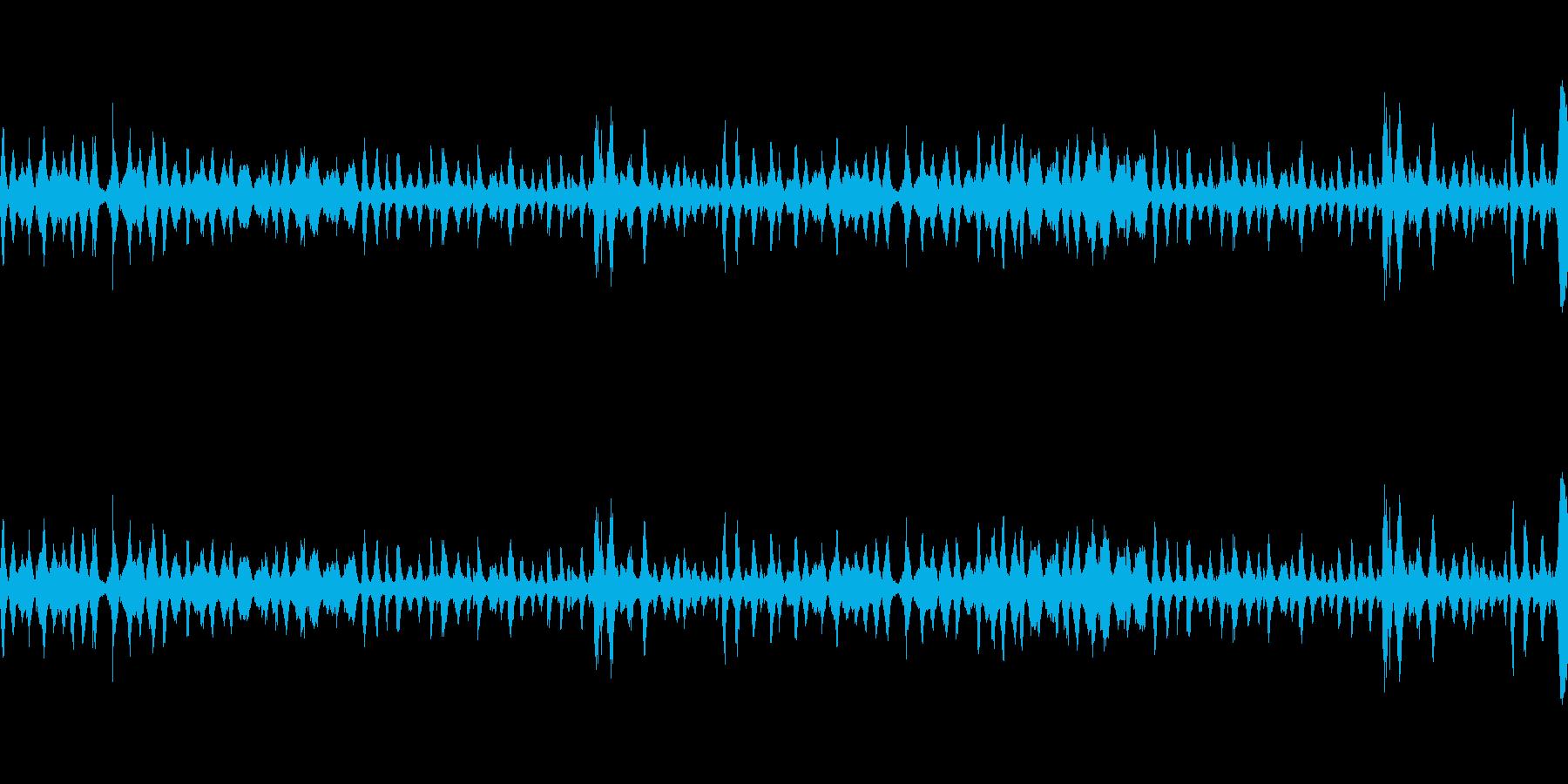波1の再生済みの波形