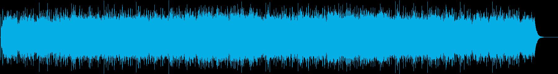 広がりのあるミステリアスなBGMの再生済みの波形