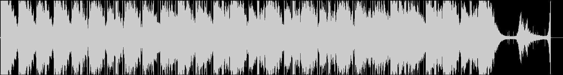 Chill系でアンビエントなヒーリング曲の未再生の波形