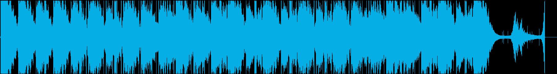 Chill系でアンビエントなヒーリング曲の再生済みの波形