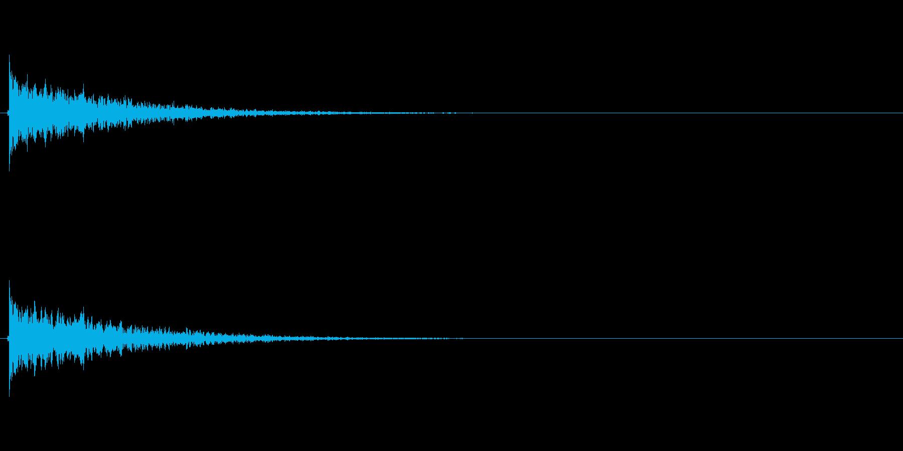 【フィンガースナップ02-1】の再生済みの波形