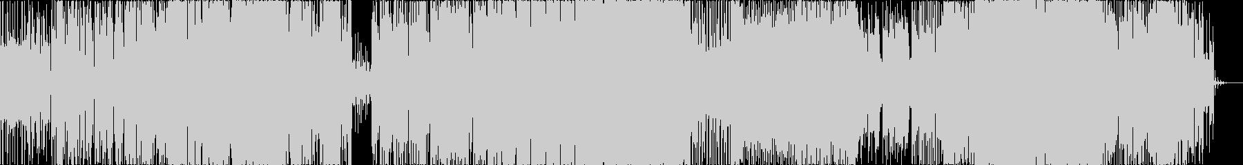 現代的なエレクトロ+バンドサウンドの未再生の波形